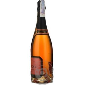 Шампанське Drappier Rose Brut 12% 0,75л - купити, ціни на CітіМаркет - фото 2