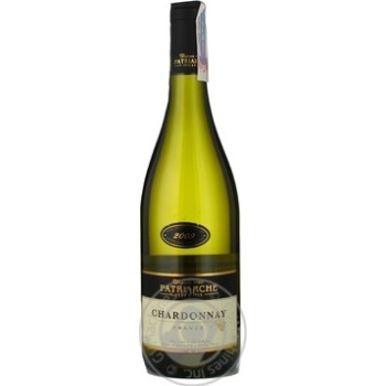 Вино біле сухе Шардоне Pere Patriarche 0,75л 2