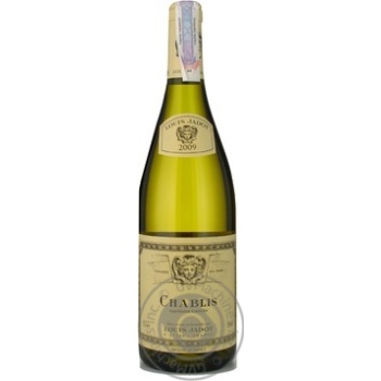 Вино Louis Jadot Chablis белое сухое 12.5% 0.75л - купить, цены на СитиМаркет - фото 1