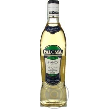 Вермут Палома белое сухие 18% 500мл Украина