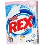 Порошок пральний Rex Мигдальне молочко Відбілюючий Automat 450г