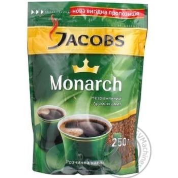 Кава Якобз Монарх натуральна розчинна сублімована 250г Німеччина