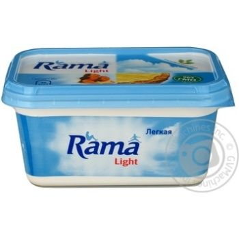 Спред Рама Легкая растительно-жировой 40% 475г