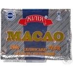 Масло солодковершкове Селянське Кілія фас.200г