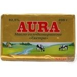 Масло Аура Экстра сладкосливочное 82.5% 200г Украина