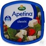 Сир Арла Апетіна бринза м'який в розсолі кубиками 50% 200г