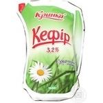 Кефір 3,2% Кринка еколін 1л