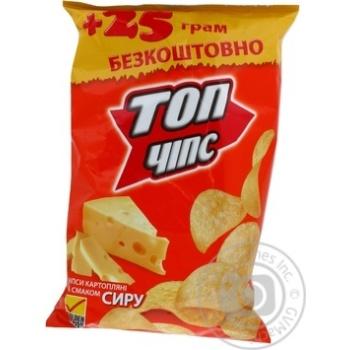 Чипсы Топ чипс со вкусом сыра 150г Украина