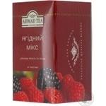 Чай Ахмад фруктовые черное пакетированный 20шт 2г Великобритания