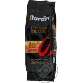 Кофе Жардин Эфиопия Сидамо №3 арабика натуральный молотый среднеобжаренный сорт премиум 125г Россия