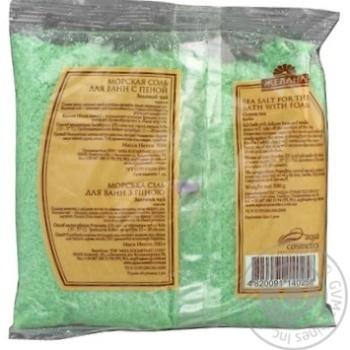 Сіль для ванн морська Бажана Зелений чай 500г х30 - купити, ціни на МегаМаркет - фото 3