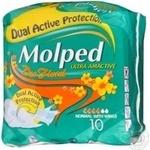 Прокладки гігієнічні Molped Ultra Normal Deo Floral 10шт