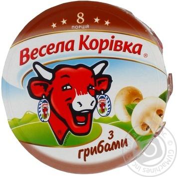 Сыр Вэсэла коривка с грибами плавленый 8 порций 50% 140г Словакия