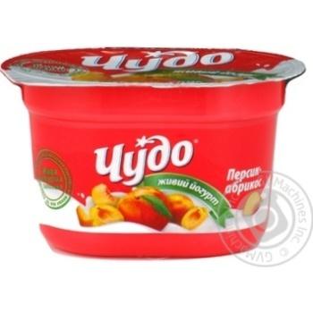Йогурт Чудо с абрикосом 2.5% 120г Украина