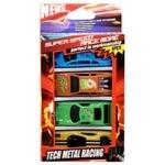 Zed Car Play Set 4pcs