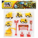 Zed Construction Machinery Play Set