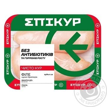 Филе Epikur цыпленка-бройлера охлажденное весовое - купить, цены на Novus - фото 1