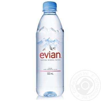 Вода Эвиан негазированная 0,5л - купить, цены на Novus - фото 1