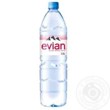 Вода минеральная Evian негазированная 1,5л - купить, цены на Восторг - фото 3