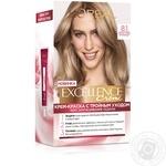L'Oreal Paris Excellence cream hair dye for light brown hair 8.1