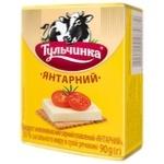 Сыр плавленый Тульчинка Янтарный 55% 90г