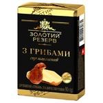 Cheese Zolotoy reserv mushroom processed 55% 90g