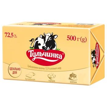 Смесь Тульчинка растительно-молочная 72,5% 500г - купить, цены на Метро - фото 1