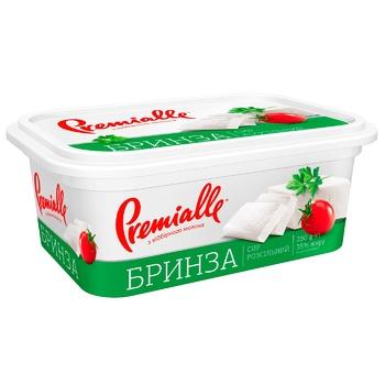 Сир Premialle Бринза розсольний 35% 250г - купити, ціни на CітіМаркет - фото 1