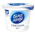 Bila liniya Sour Cream 15% 200 g