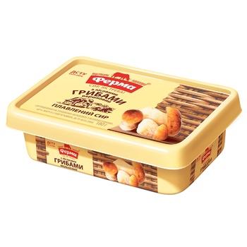 Сыр плавленый Ферма Сливочный с лесными грибами 60% 180г