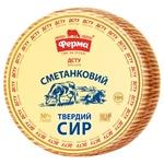 Сыр Ферма Сметанковый твердый 50% голова