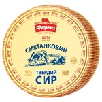 Сыр Ферма Сметанковый твердый 50%