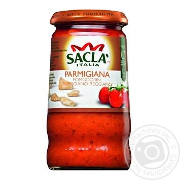 Соус Sacla Італійський з помідорами черрі та сиром Пармезан 350г - купити, ціни на МегаМаркет - фото 1