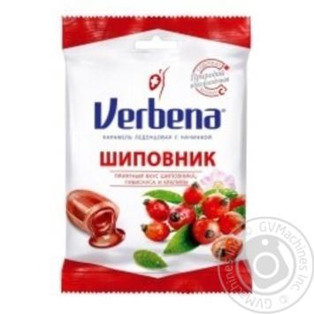Леденцы Verbena Шиповник с витамином С 60г - купить, цены на Novus - фото 1