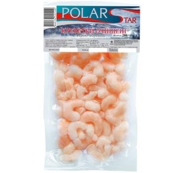 Креветки Polar Star очищені варено-морожені 200г - купити, ціни на Ашан - фото 1