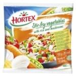 Овочі для смаження Hortex з рисом та печерицями 400г