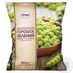 Горошек зеленый Лимо замороженный 400г