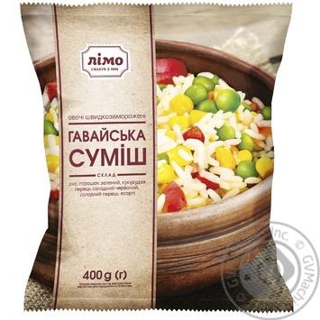 Смесь овощная Лимо Гавайская замороженная 400г - купить, цены на Ашан - фото 1