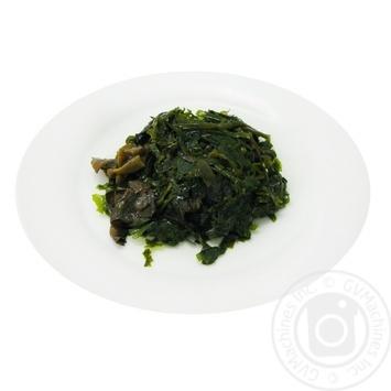 Салат капуста морская с грибами
