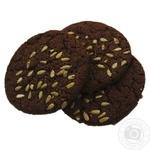 Печенье Американер шоколадное с семенами - купить, цены на Фуршет - фото 1
