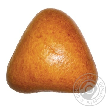 Булочка сдобная с яблоками 80г - купить, цены на Фуршет - фото 1
