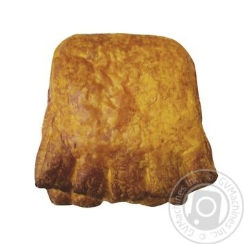 Puff with ham and cheese 110g bak