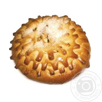 Пирог сдобный с яблоками 200г - купить, цены на Фуршет - фото 1