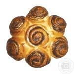 Пиріг Квітка здобний з маковою начинкою 300г - купити, ціни на Фуршет - фото 1