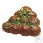 Rye-Wheat Bun with Garlic 350g