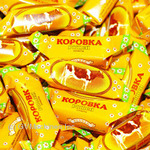 Candy Roshen Korivka kyivska toffee with filling Ukraine