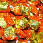 Candy Konti chocolate with cognac with filling Ukraine