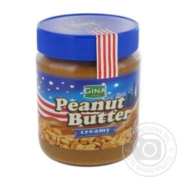 Gina butter peanut butter 350g - buy, prices for Furshet - image 1