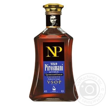 Коньяк Niko Pirosmani VSOP 40% 0,5л - купити, ціни на МегаМаркет - фото 1