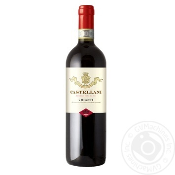 Castellani Chianti red dry wine 12.5% 0.75l - buy, prices for Furshet - image 1